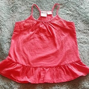 Roxy- Girls tank top in Coral